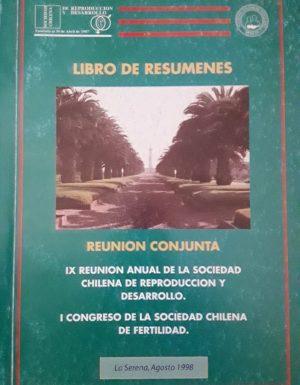 Libro Resúmenes 1998