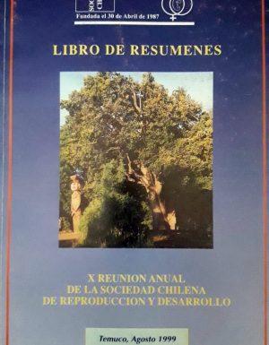 Libro Resúmenes 1999